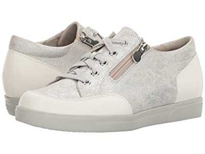 Munro Gabbie (White Metallic Print) Women