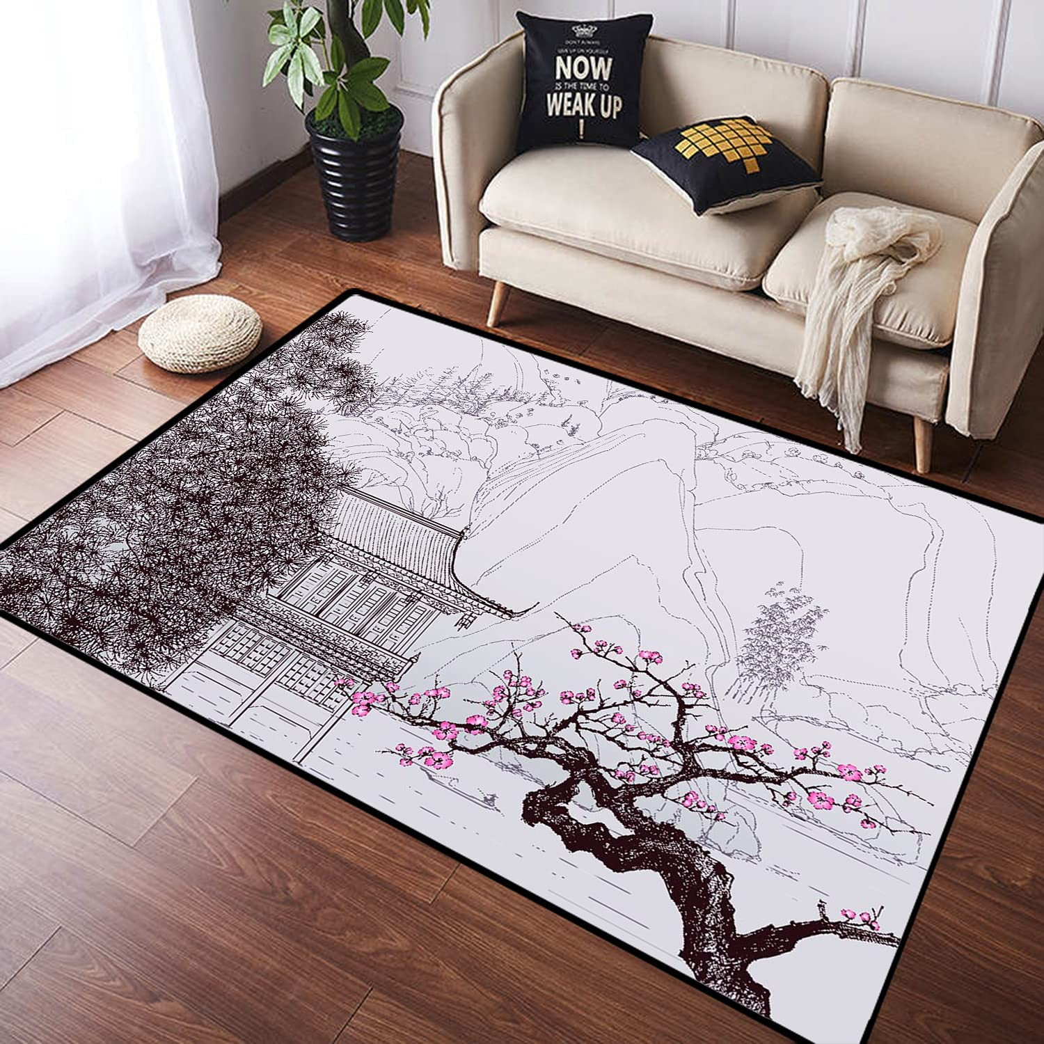 ZOMOY Long Floor Mat a Chinese Landscape The Old in Style Max 68% OFF Sales of SALE items from new works of Chi