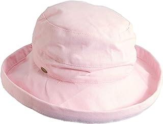 قبعة سكالا القطنية متوسطة الحافة للنساء