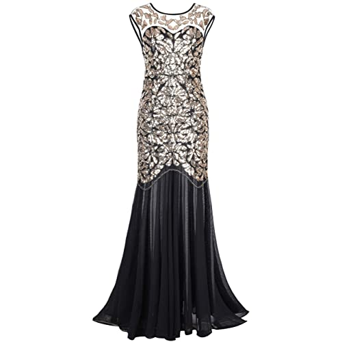 Long Formal Dress Gold And Black Amazon