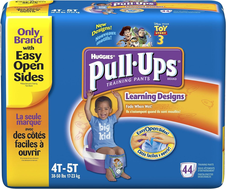 Huggies Pull Ups Night Time Potty Training Pants Boys 2-4 Years 18-23kg 13 Pants