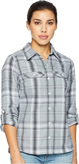 Cirrus Grey Ombre Window Plaid