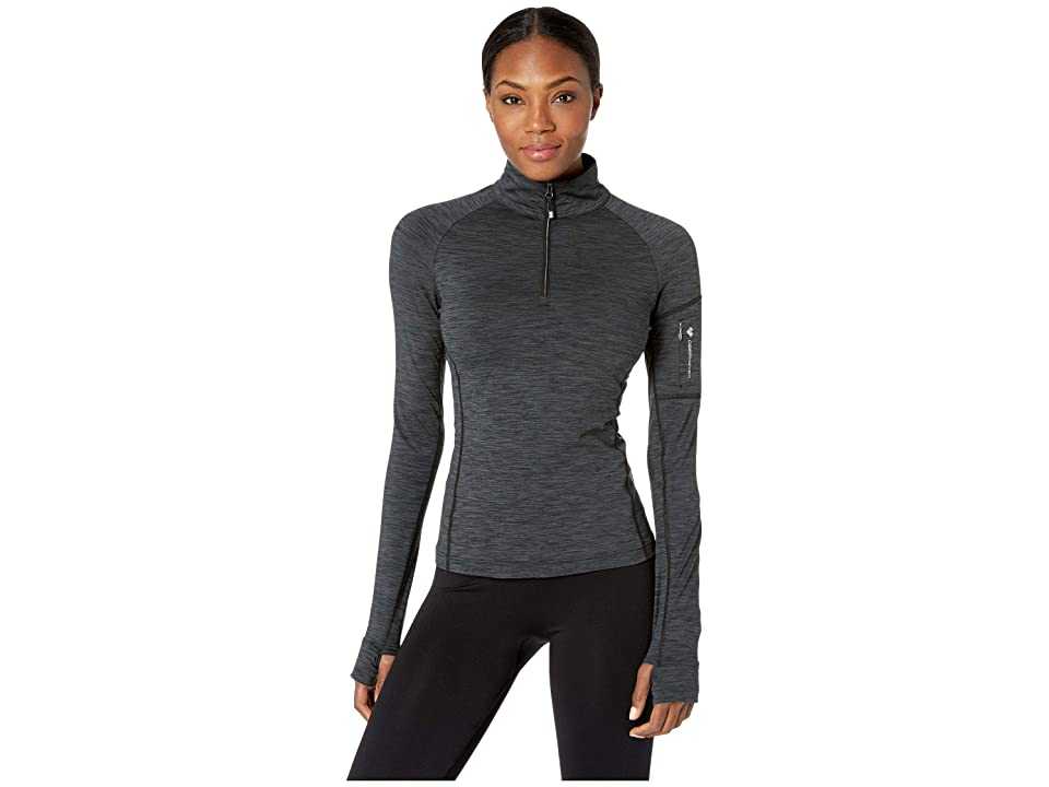 Obermeyer Discover 1/4 Zip Base Layer (Black) Women