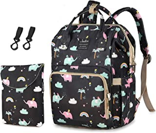 Diaper Bag, Waterproof Baby Nappy Bags Dirty Diaper Pouch with Hooks