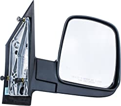Right Passenger Side Door Mirror for Chevy Express GMC Savana Textured Non-Heated Manual Folding (2003 2004 2005 2006 2007 2008 2009 2010 2011 2012 2013 2014 2015 2016 2017) - GM1321284