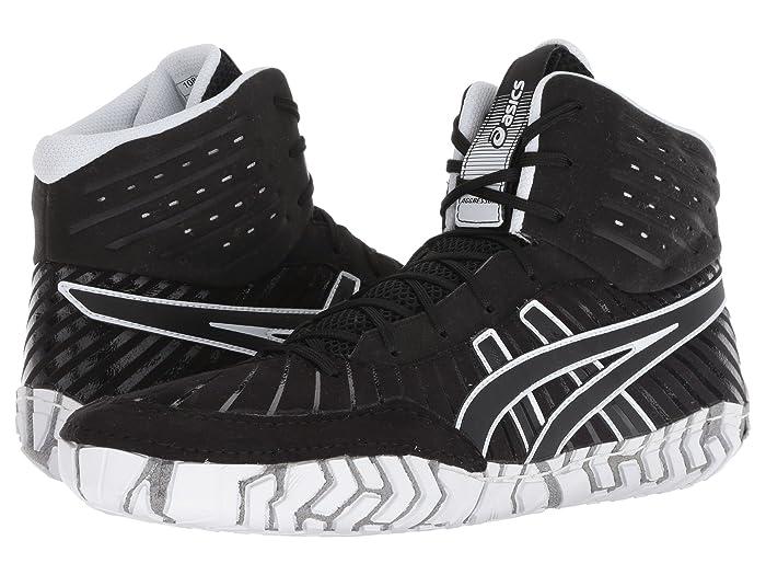 ASICS  Aggressor 4 (Black/Black) Mens Wrestling Shoes