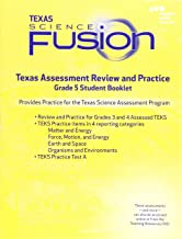 Houghton Mifflin Harcourt Science Fusion: Texas Assessment Review and Practice Grade 5