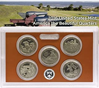 2016 S US Proof Set National Parks Quarters Comes in US Mint Packaging Proof