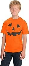 Jack O' Lantern Pumpkin Youth T-Shirt/Easy Halloween Costume Fun Tee