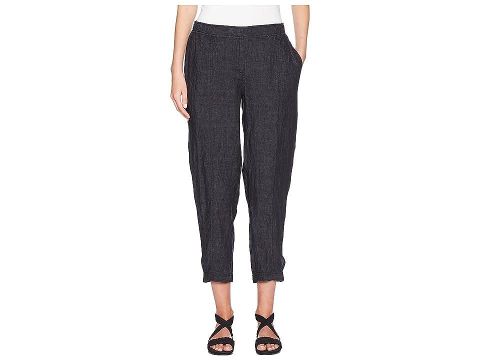 Eileen Fisher Easy Ankle Pants (Denim) Women