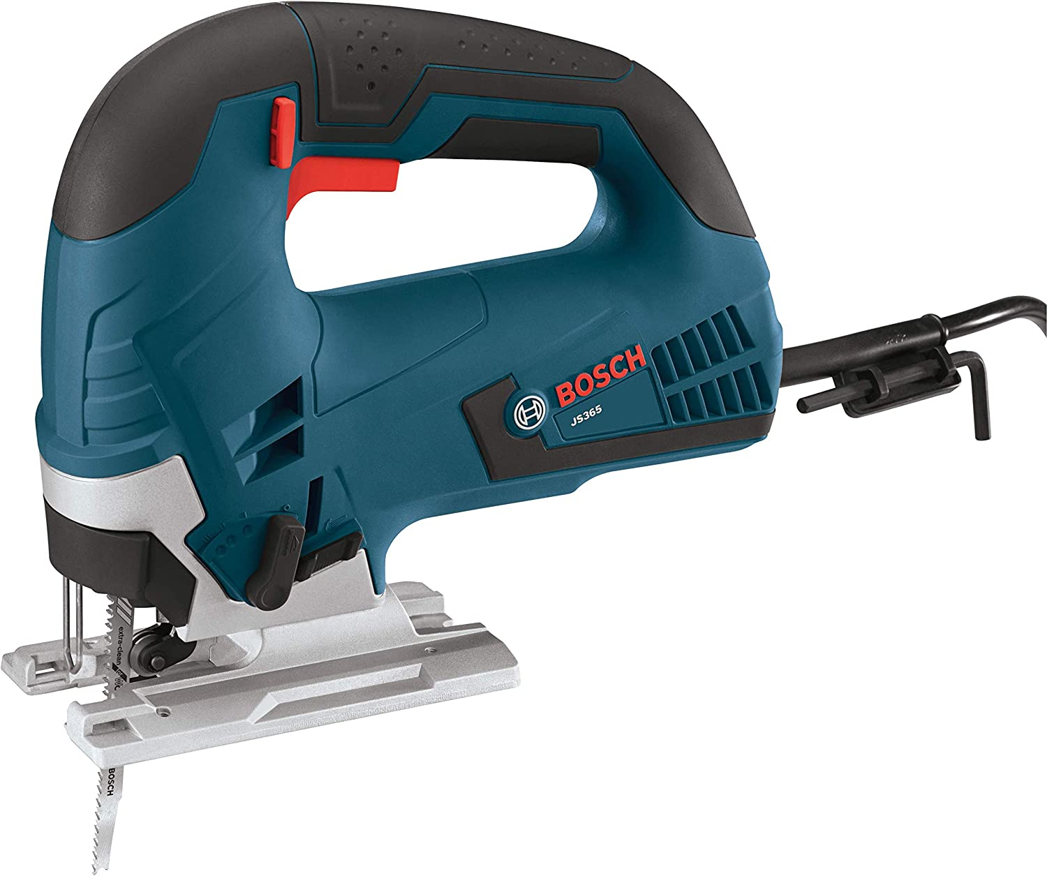 BOSCH Indianapolis Mall OFFicial store 120-Volt Top-Handle Jigsaw Kit 6.5 JS365 Amp Blue