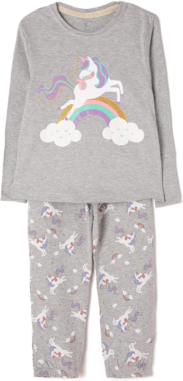 ZIPPY Unicornio Conjuntos de Pijama para Niñas