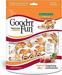 Triple Flavor Rawhide Chews 25 Count - 12.43
