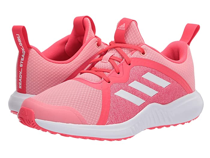 adidas Kids  FortaRun X (Little Kid/Big Kid) (Glory Pink/White/Shock Red) Girls Shoes