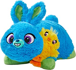 "Pillow Pets Bunny 16"" & Ducky Mini Plush - Disney Toy Story 4 Stuffed Animal Set"