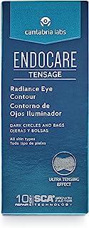 Endocare Tensage Contorno de Ojos Iluminador - Crema Antiarrugas Antiojeras y Antibolsas Revitalizante Iluminadora Red...