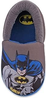 Boy's Batman A-Line Dual Size Slippers (Toddler/Little Kid) Grey