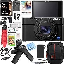 Sony Cyber-Shot RX100 VII RX100M7 Premium Compact Camera DSC-RX100M7 Vlogging Bundle with Shooting Grip Tripod VCT-SGR1, 6...