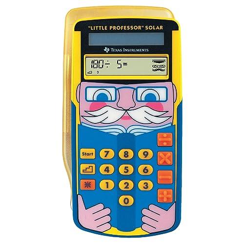 Texas Instruments LPROFSOLAR Little Professor Calculatrice solaire d'apprentissage