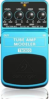 Behringer TM300 Ultimate Tube Amp Modeling Instrument Effects Pedal