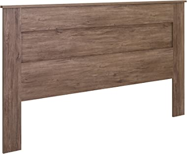 Prepac Select King Flat Panel Headboard Drifted Gray