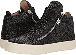 May London Glitter High Top Sneaker