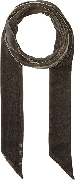 Echo Design - Bias Point Velvet Thinny Oblong Scarf