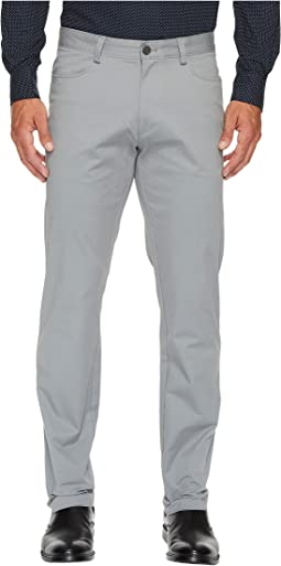 Slim Fit 4-Pocket Stretch Sateen Pant