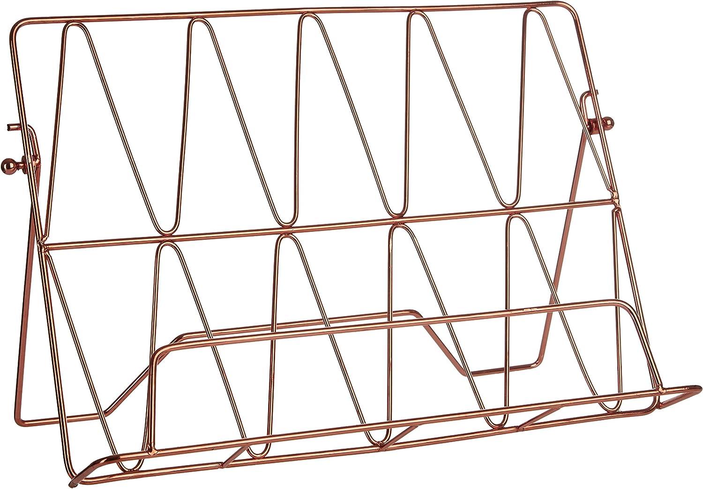 Premier Housewares Vertex Cookbook Stand - Copper Plated