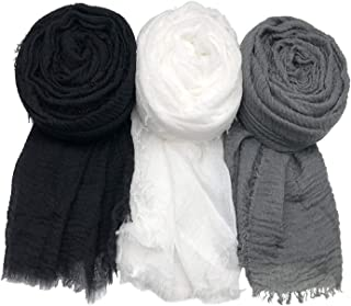 cotton circle scarf