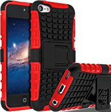 iPod Touch 7 Case,iPod Touch 6 Case,iPod Touch 5 Case, SLMY(TM) Heavy Duty Dual Layer..