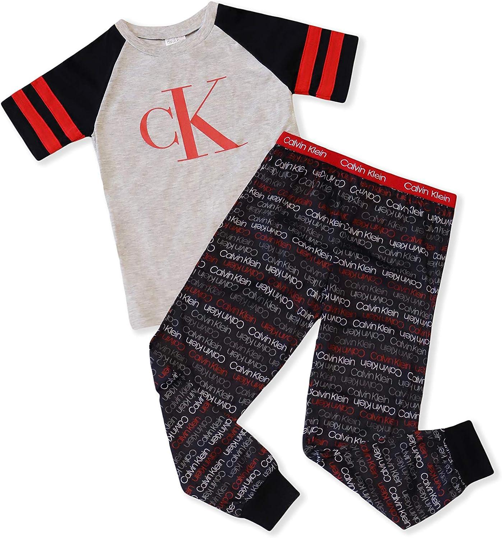 Calvin Klein Boy Long Sleeve Pajama Set