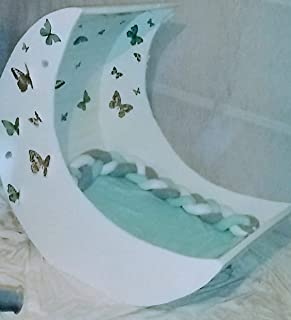 Butterfly half moon bassinet