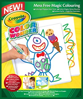 Crayola Color Wonder, Mess Free Coloring Pad, Refill Paper, 30 Blank Pages