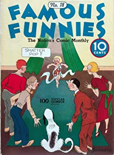 Famous Funnies 018 (no BR) (1 damaged page) (English Edition)