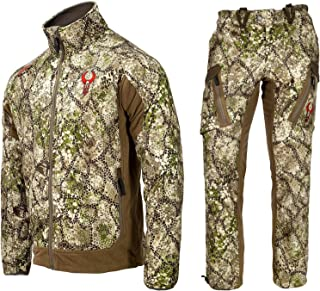 Badlands Rise Hunting Outfit (Approach Camo, XL) with Jacket and Pants Bundle, Waterproof, Lightweight, Breathable, Quiet