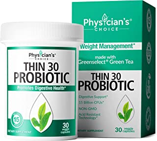 Probiotics for Women - Detox Cleanse & Weight Loss Support - Clinically Studied Greenselect- Organic Prebiotics, Digestive...