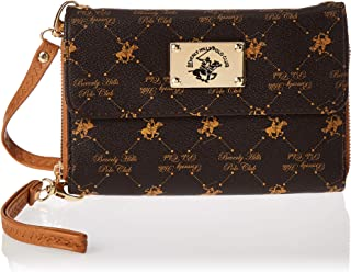Beverly Hills Polo Club Wallet Brown