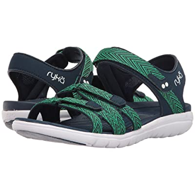 Ryka Savannah (Insignia Blue/Shamrock Green) Women