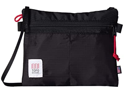 Topo Designs Accessory Shoulder Bag (Black 1) Bags