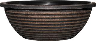 "Classic Home and Garden 615 Acopper Santa Fe 17"" Bowl Planter, Large, Antique Copper"