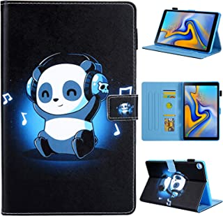 Samsung Galaxy Tab A 8.0 2019 Case, Dluggs PU Leather Folio Stand Wallet Pattern Cover for Samsung Galaxy Tab A 8.0 2019 Without S Pen Model (SM-T290 Wi-Fi, SM-T295 LTE), Panda