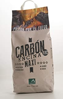 Carbón Vegetal de encina XXL - 3kg