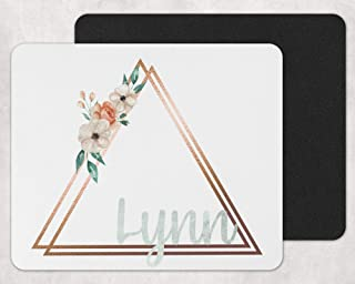 Floral Personalized Mouse Pad
