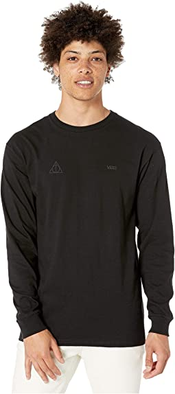Black (Deathly Hallows L/S T-Shirt)
