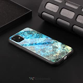 Cocomii Glass Marble Armor iPhone 11 Case New [Polished Granite] Premium Ultra HD Vivid Pattern Never Fade Anti-Scratch Shockproof Bumper Shell [Slim] Full Body Cover for Apple iPhone 11 (GL.Green)