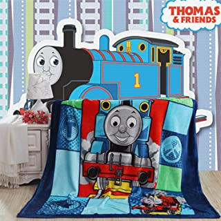 MAXWXKING Children's Cartoon Printing Throw Blanket Super Soft Coral Fleece Toddler Blanket Elegant Cozy Hypoallergenic Ultra Plush Washable Bed/Couch Blanket 60