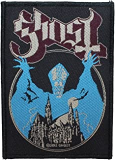 Ghost B.C. Opus Eponymous Album Cover Art Metal Band Woven Sew On Applique Patch