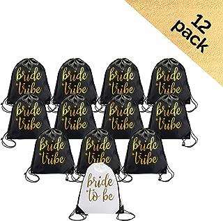 Bride & Bride Tribe Drawstring Bags (12)