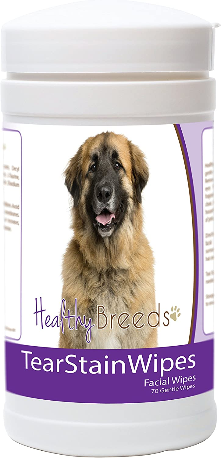 Healthy Breeds Leonberger Tear Count Wipes 70 Selling and selling It is very popular Stain